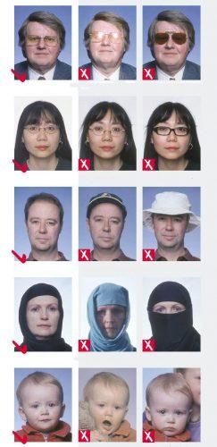 Требование к фото на визу Кипра