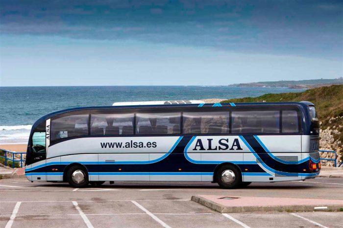 Автобус компании Alsa