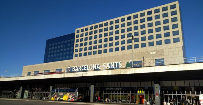 Железнодорожный вокзал Эстасьо Сантс, Барселона