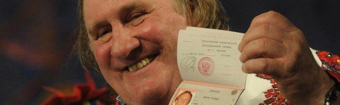 Депардье с российским паспортом