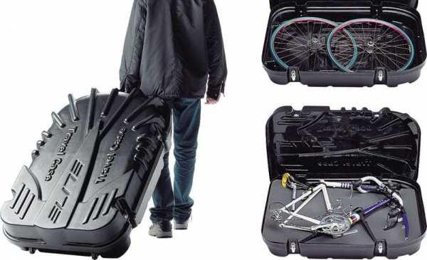 Как выглядит перевозка велосипеда в жестком кофре