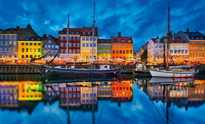 Старинная Новая гавань, Копенгаген