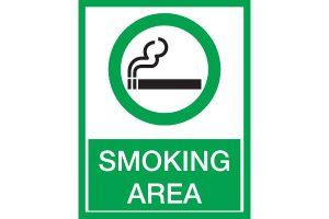 "Знак ""Место для куреня"""