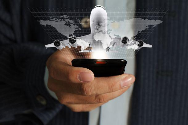 Мобильный телефон в самолете