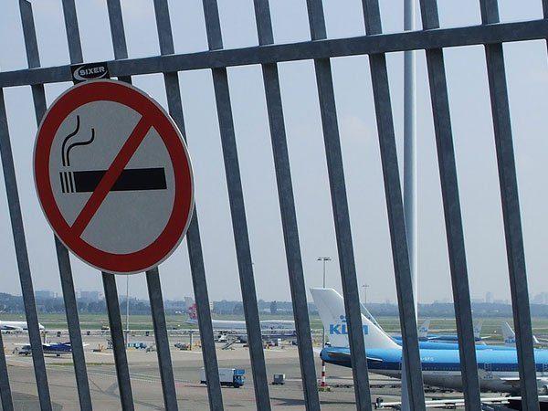 Можно ли курить в аэропорту Домодедово