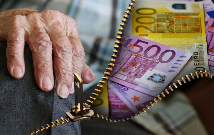 Пенсии, евро