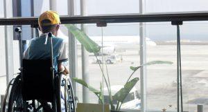 Ребенок инвалид в аэропорту