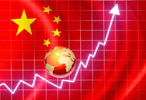 График роста в Китае