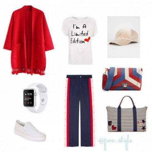 Комплект одежды в спортивном стиле