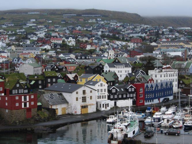 Столица Фарерских островов г. Торсхавн