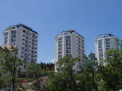 Жилой комплекс ул. Б. Хмельницкого в Алуште