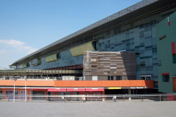Железнодорожный вокзал Tiburtina Station