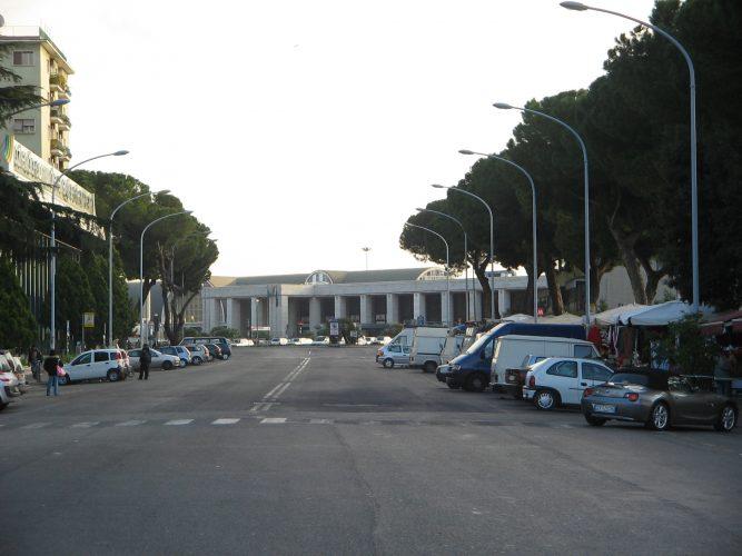 Вокзал Ostiense в Риме