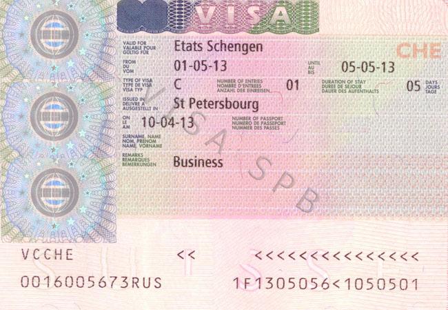 Швейцарская шенгенская виза