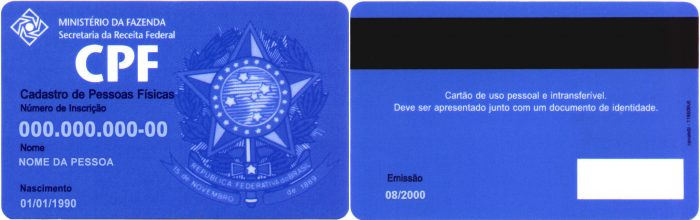 Бразильский CPF