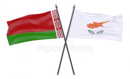 Флаги Белорусии и Кипра