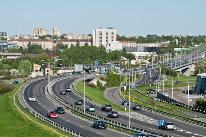 Автотрасса Литвы