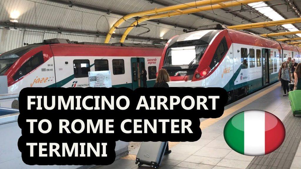 Рим, аэропорт Фьюмичино — как добраться до Термини