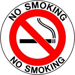 "Знак ""No smoking"""