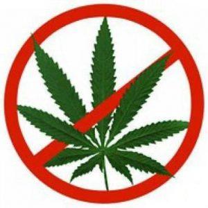 Знак запрещающий наркотики