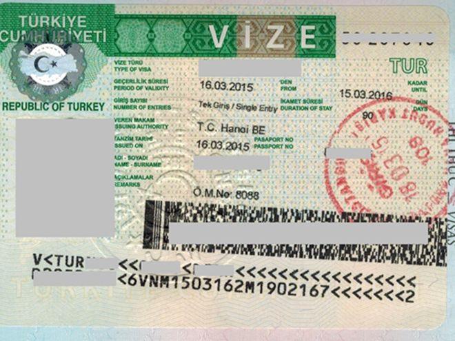 Рабочая виза Турции