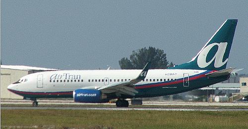 Самолет компании AirTran Airway