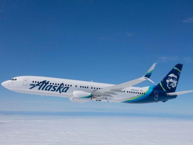 Самолет Alaska Airlines Boeing 737