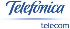 Логотип Telefonica