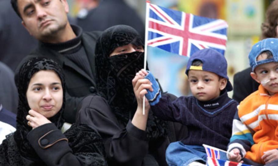 Беженцы в Великобритании