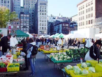 Фермерский рынок в США