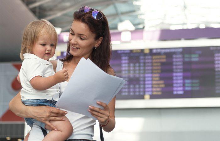Снятие запрета на выезд ребёнка за границу