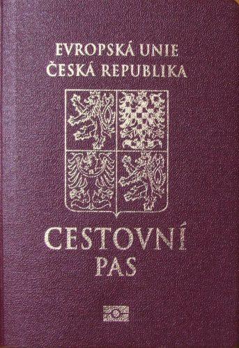 Паспорт гражданина Чешской Республики