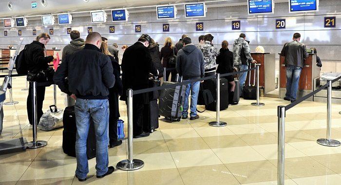 Регистрация на рейс в аэропорту Мюнхена