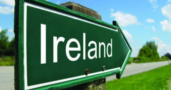 Ирландия указатель