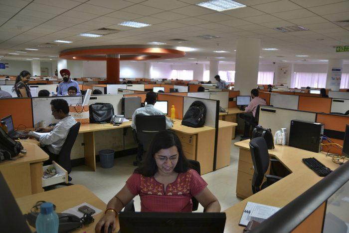Офис в индийской компании