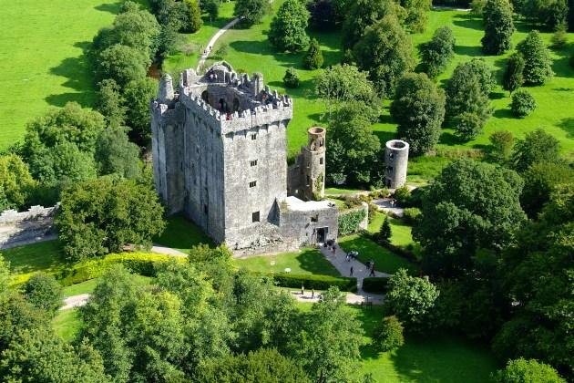 Ирландия, замок Бларни