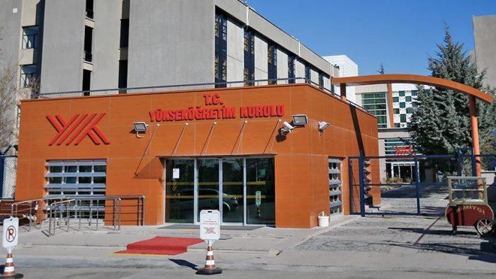 YÖK в Анкаре