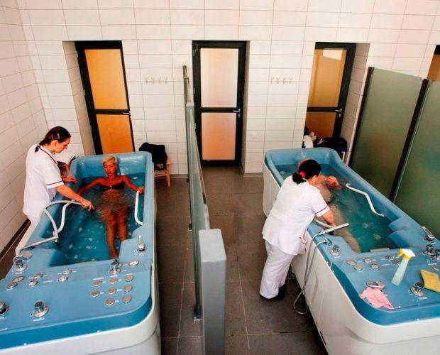 Ванны в санатории Боржоми