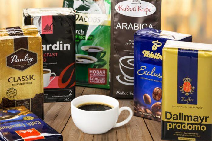 Производители молотого кофе