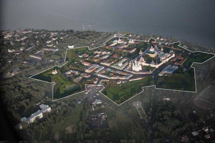 Ростовская крепость с высоты птичьего полета