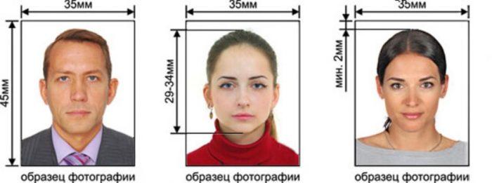 фото для заграничных паспортов