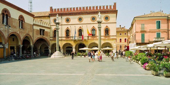 площадь Равенны