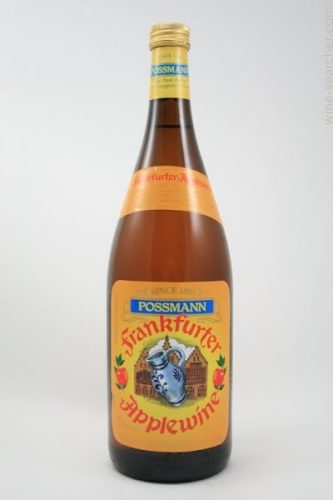 Possman Frankfurter Apfelwein Apple Cider, Germany