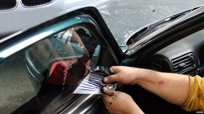 Снятие тонировки в автосервисе