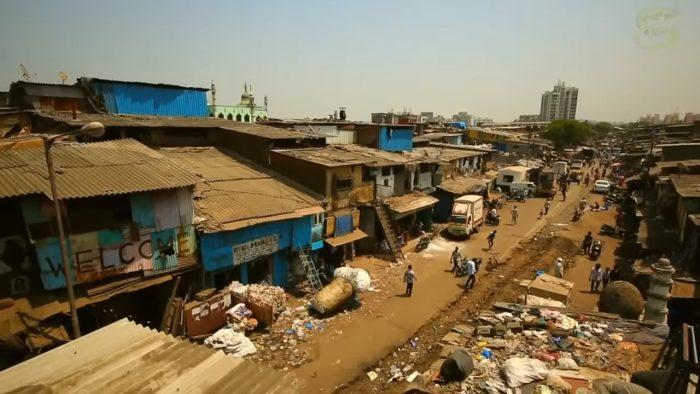 Трущобы в Мумбае