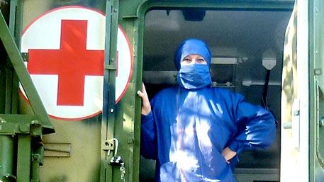 Военные врачи в Сирии