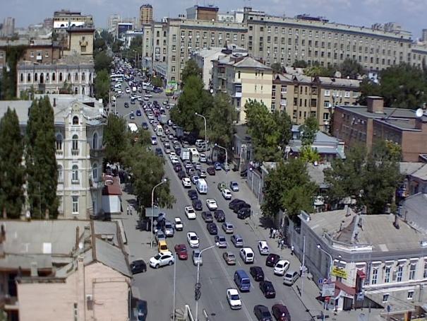 Ворошиловский район города Ростова-на-Дону