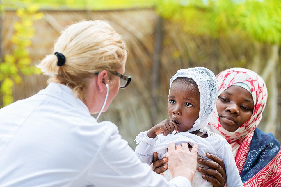 Как работают российские врачи в Африке