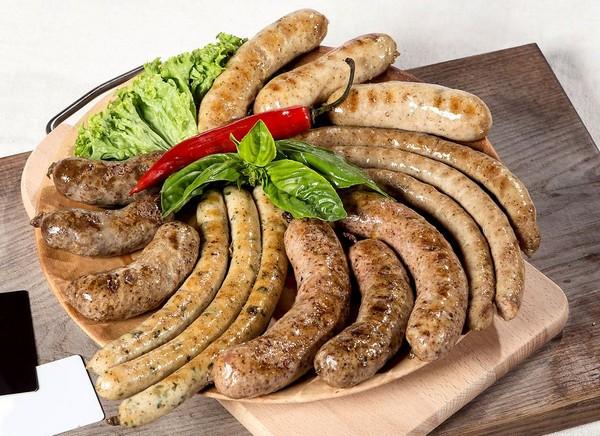 Вайссвурсты — белые мюнхенские колбаски