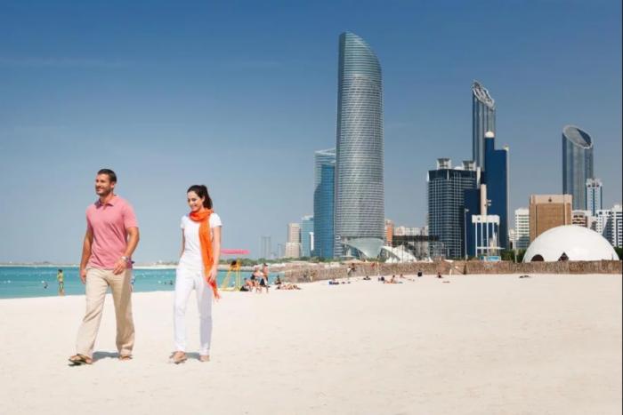 Пляж Корниш, Абу-Даби